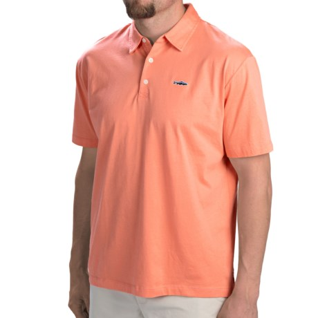 Patagonia Fitz Roy Trout Polo Shirt Organic Cotton, Short Sleeve (For Men)