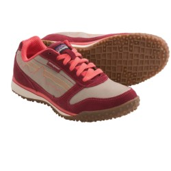 Patagonia Fitz Sneak Trail Shoes - Suede (For Women) in Waxed Red