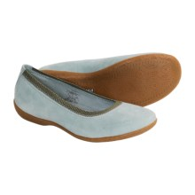 Patagonia Gilia Nubuck Shoes - Flats, Slip-Ons (For Women) in Low Tide - Closeouts