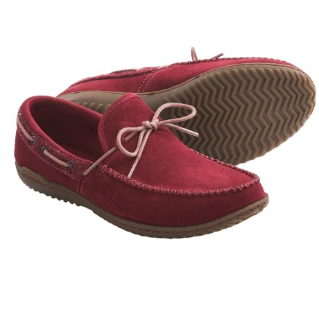 Patagonia Kula Moccasins - Suede (For Women) in Waxed Red