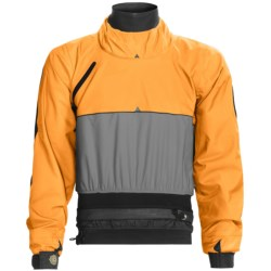 Patagonia Lotus Designs Home Stretch Dry Top - Long Sleeve in Mandarin