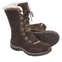 Patagonia Lugano Lace High Winter Boots - Waterproof, Insulated (For Women) in Espresso - Closeouts
