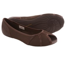 Patagonia Maha Breathe Peep Toe Flats (For Women) in Sable Brown - Closeouts