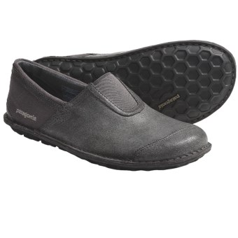 Patagonia Manawa Leather Shoes (For Men) in Narwhal Grey