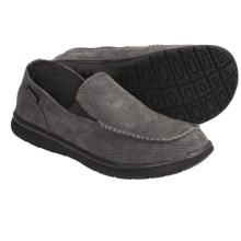 Patagonia Maui Moc Shoes - Recycled Materials, Leather (For Men) in Forge Grey - Closeouts