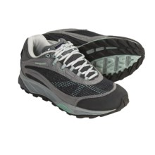 Patagonia Nine Trails Trail Shoes - Recycled Materials (For Women) in Forge Grey/Prairie Mist - Closeouts