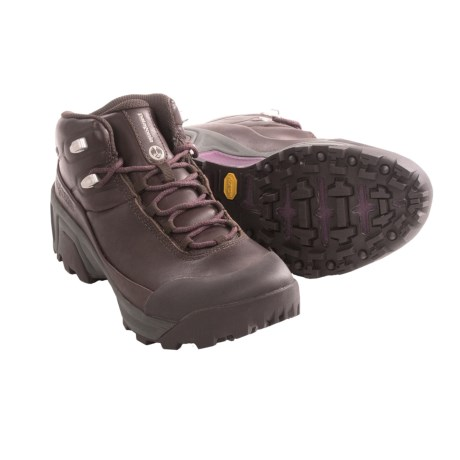 Patagonia P26 Mid Gore-Tex® Backpacking Boot - Waterproof, Nubuck (For Women) in Expresso Brown