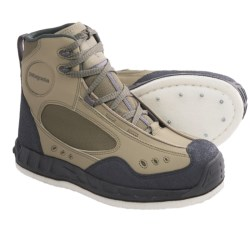 Patagonia Riverwalker Wading Boots - Felt Sole, Studded (For Men and Women) in Marsh Green