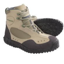 Patagonia Riverwalker Wading Boots - Rubber Sole (For Men and Women) in Marsh Green - 2nds
