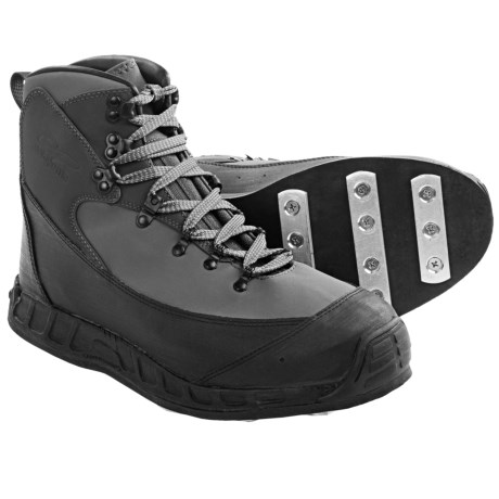 Patagonia Rock Grip Wading Boots - Aluminum Bar (For Men and Women) in Narwhal Grey
