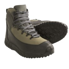 Patagonia Rock Grip Wading Boots - Sticky/Studded Sole (For Men and Women) in Sage/Black - Closeouts