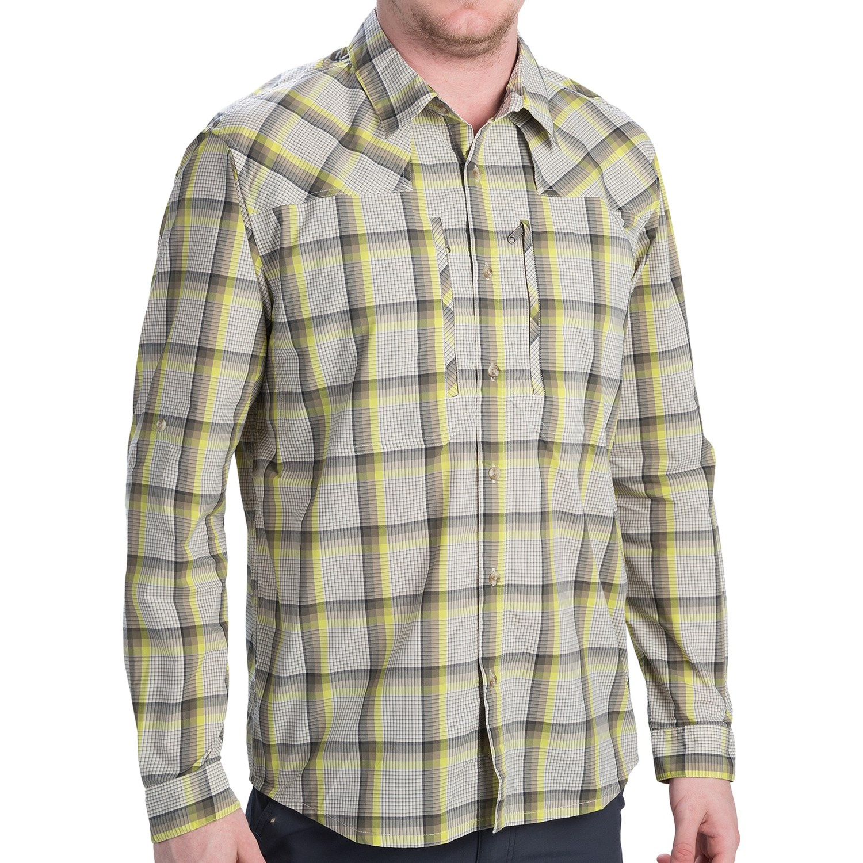 Patagonia sun stretch shirt upf 30 long sleeve for men for Long sleeve sun shirt mens