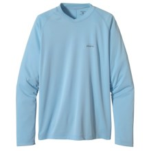 Patagonia Sunshade Shirt - UPF 30, Long Sleeve (For Men) in Clear Pool - Closeouts