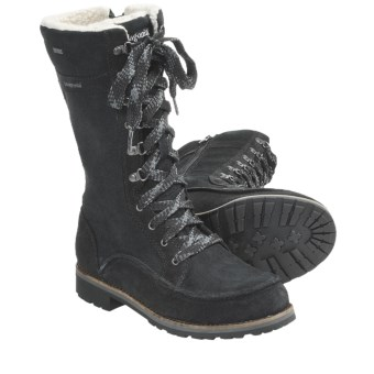 Patagonia Tin Shed Tall Boots - Waterproof, Recycled Materials (For Women) in Black