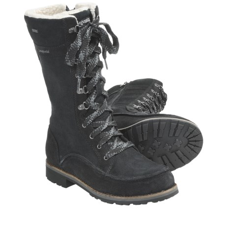 Patagonia Tin Shed Tall Boots - Waterproof, Recycled Materials (For Women) in Espresso