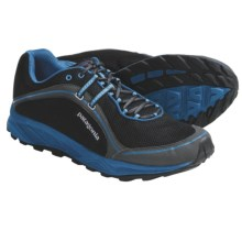 Patagonia Tsali 2.0 Trail Running Shoes - Recycled Materials (For Men) in Black/Grecian Blue - Closeouts