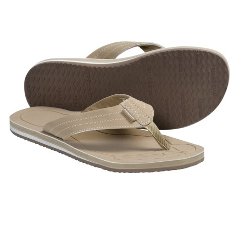 Patagonia Upflip Flip-Flop Sandals (For Women) in Retro Khaki