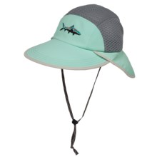 Patagonia Vented Spoonbill Cap - Supplex® Nylon (For Men and Women) in Atoll Aqua - 2nds