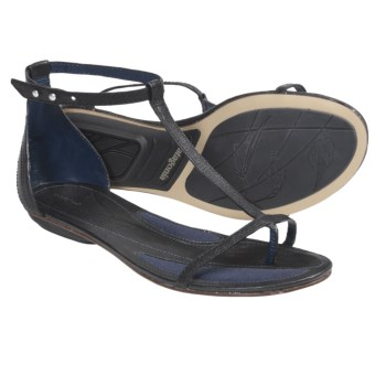 Patagonia's Bandha T-strap Sandals  (For Women) in Black