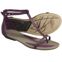 Patagonia's Bandha T-strap Sandals  (For Women) in Currant - Closeouts