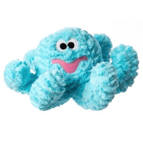 "Patchwork Pet Pastel Octopus Dog Toy - 15"" in Pastel Blue"