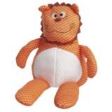 Patchwork Pet Tuffpuff Lion Plush Grunting Dog Toy
