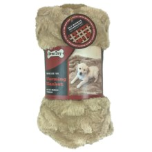 Pawslife Faux-Fur Warming Pet Blanket in Taupe - Closeouts