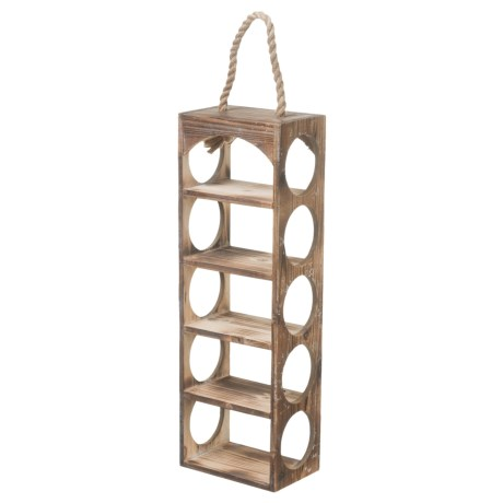 pd home garden wine bottle holder in natural - Pd Home And Garden