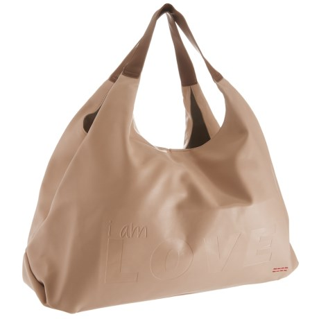 Peace Love World Slouchy Hobo Bag For Women In Taupe
