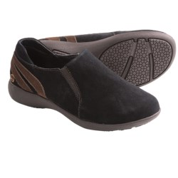 Peace Mocs Denise Shoes - Suede (For Women) in Black