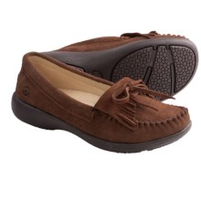 Peace Mocs Donna Shoes - Suede (For Women) in Brown - Closeouts