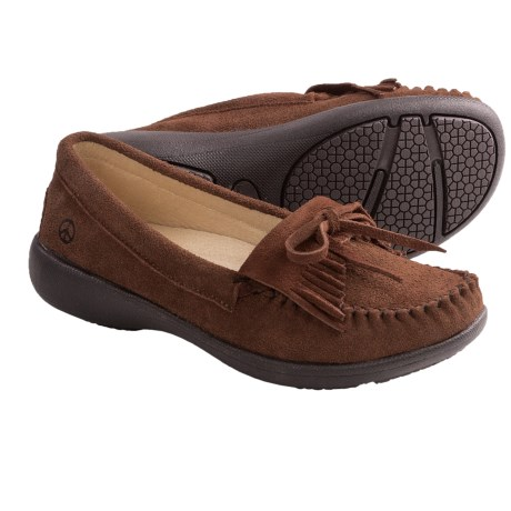 Peace Mocs Donna Shoes - Suede (For Women) in Brown