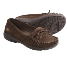 Peace Mocs Donna Shoes - Suede (For Women) in Chocolate - Closeouts