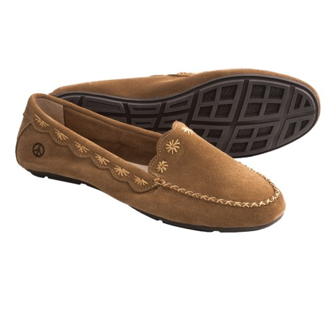 Peace Mocs Kate Shoes (For Women) in Tan