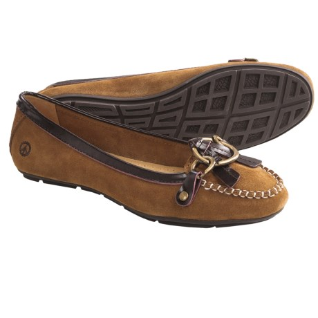 Peace Mocs Mary Shoes - Leather (For Women) in Tan
