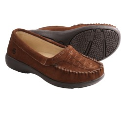 Peace Mocs Michelle Shoes - Suede (For Women) in Brown