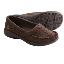 Peace Mocs Michelle Shoes - Suede (For Women) in Chocolate - Closeouts