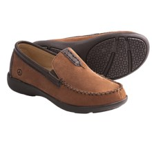 Peace Mocs Vicki Moccasins - Suede (For Women) in Tan/Chocolate - Closeouts