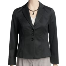 Peace of Cloth Panticular Emma Jacket - Shaping Seams (For Women) in Black - Closeouts