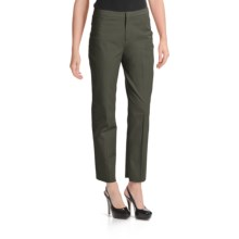 Peace of Cloth Panticular Eve Blossom Ankle Pants - Easy Twill (For Women) in Olive - Closeouts