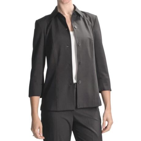 Peace of Cloth Panticular Heidi Shirt Jacket - 3/4 Sleeve (For Women) in Opal
