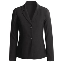 Peace of Cloth Panticular Jacket - Ruched Back (For Women) in Black - Closeouts