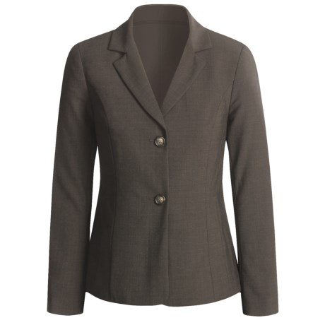 Peace of Cloth Panticular Jacket - Ruched Back (For Women) in Brown