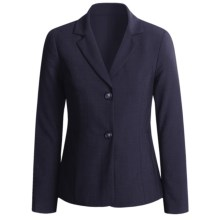 Peace of Cloth Panticular Jacket - Ruched Back (For Women) in Midnight - Closeouts