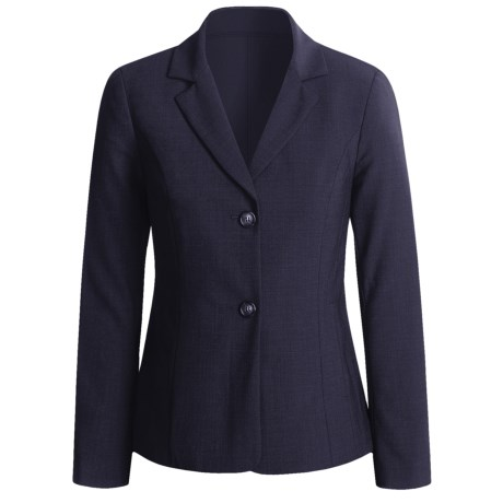 Peace of Cloth Panticular Jacket - Ruched Back (For Women) in Midnight