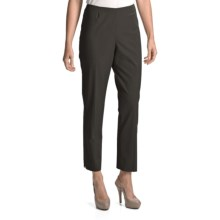 Peace of Cloth Panticular Lisa Ankle Pants - Mini-Check (For Women) in Grey - Closeouts