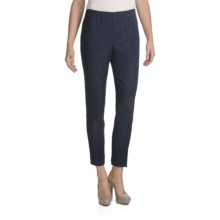 Peace of Cloth Panticular Lisa Ankle Pants - Versaille Tweed (For Women) in Marine - Closeouts