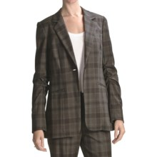 Peace of Cloth Panticular Lizzy Jacket - Noble Flannel (For Women) in Plaid - Closeouts