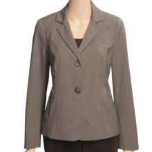 Peace of Cloth Panticular Marisa Jacket - Easy Stripe (For Women) in Truffle - Closeouts