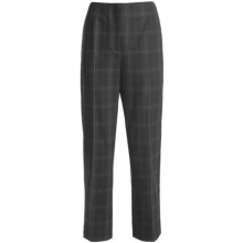 Peace of Cloth Panticular Uptown Laurie Pants - Plaid (For Women) in Black - Closeouts